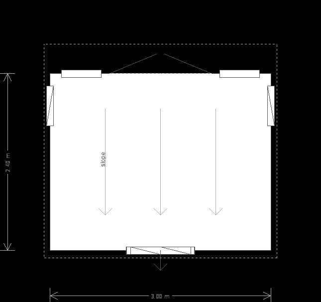 Salthouse Studio: Floorplan