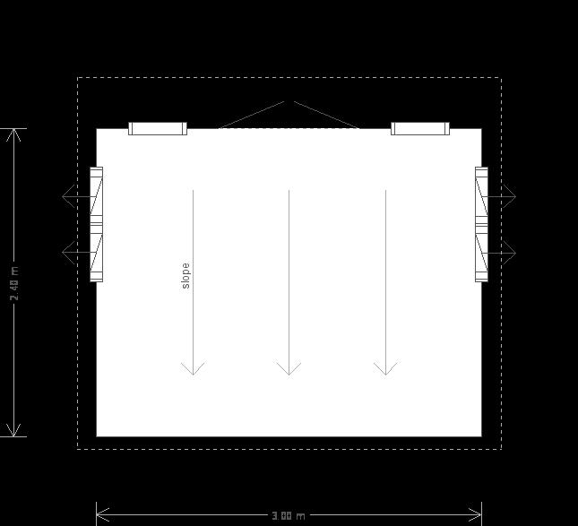 Thornham Summerhouse: Floorplan