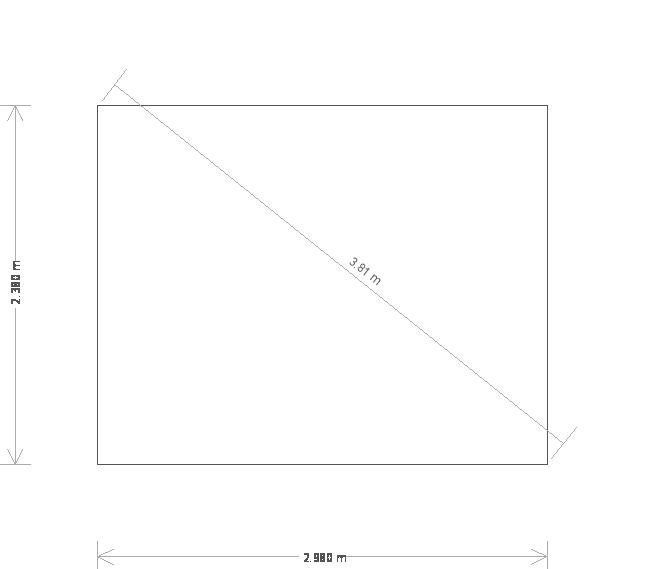 8 x 10ft Small Holkham Summerhouse (19597) base plan