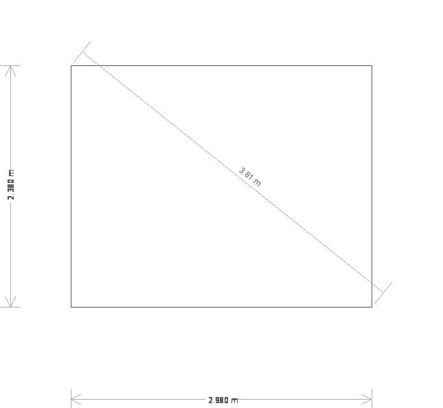 10 x 8ft Blakeney Summerhouse with Guttering (19639) base plan