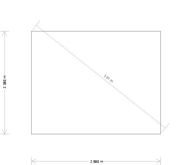 8 x 10ft Cley Summerhouse in Pebble (20345) base plan