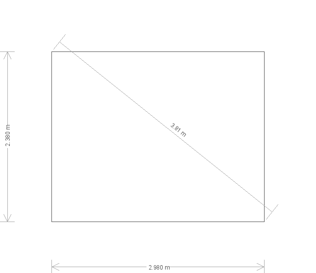 8 x 10ft Cley Summerhouse in Ash (20519) base plan