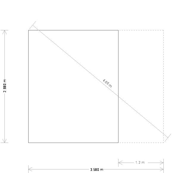 10 x 12ft Morston Summerhouse with Veranda (20875) base plan
