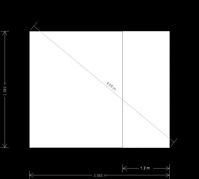 10 x 12ft Summerhouse with Veranda (24121) base plan