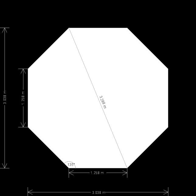 10 x 10 Wiveton Summerhouse (Ref: 484) (484) base plan