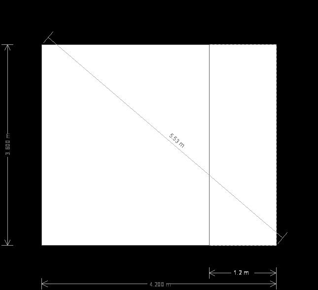 12 x 14 Morston Summerhouse - (Ref: 605) (605) base plan