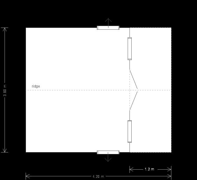 12 x 14 Morston Summerhouse - (Ref: 605) (605) floorplan