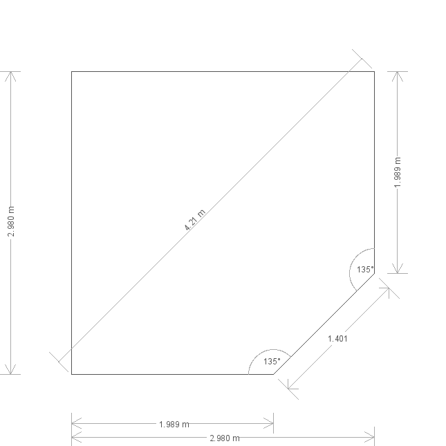 10 x 10 Weybourne Summerhouse Plan (6663) base plan