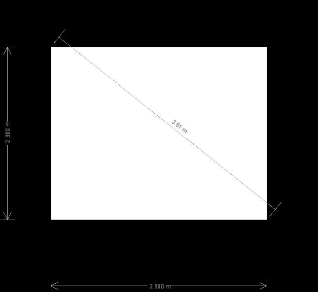 10 X 8 Blakeney Summerhouse With Apex Roof Plan (9749) base plan