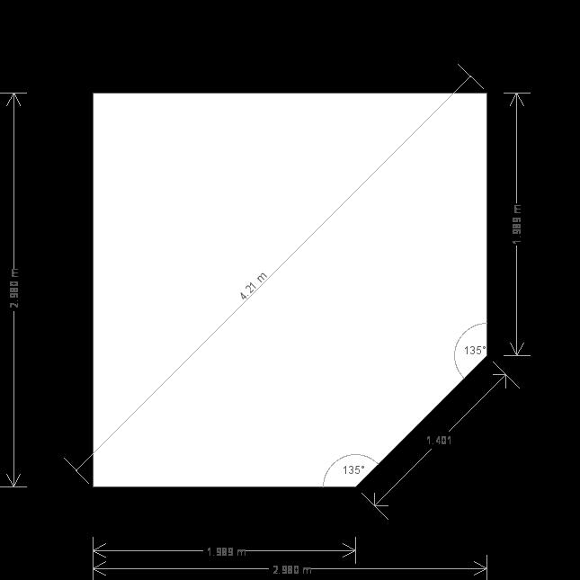 10 X 10 Weybourne Summerhouse In Cream (9775) base plan