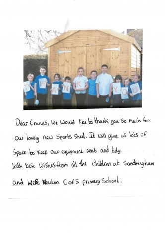 Children Thank you letter