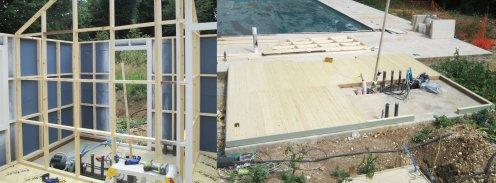 Crane Garden Buildings Build