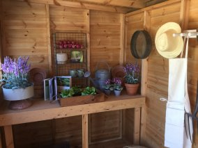 Garden Potting Shed