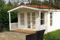 large morston summerhouse with veranda
