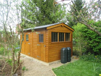 Superior Shed in Sikkens paint