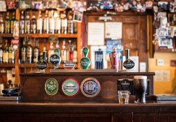 Bar in British Pub