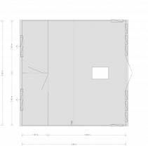 CAD Drawing Burnham Interior