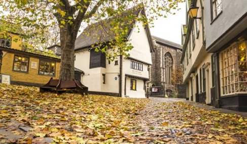 Autumnal Norwich