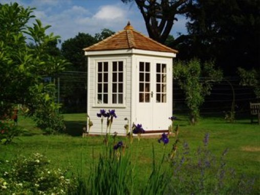 Wiveton Summerhouse with Flowers