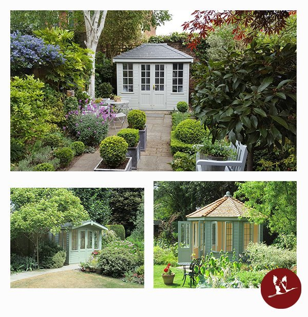 Summerhouse Collage