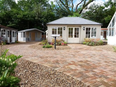 Our award-winning Chelsea Flower Show Garden Room at its new home in Cranleigh