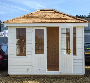 This 2.4 x 3.0m Cley Summerhouse is part of our Ex-Display Sale