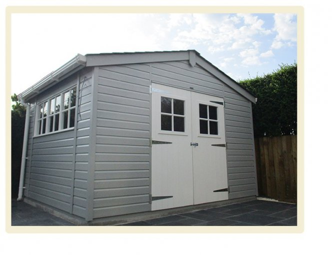 A Superior Shed with an Apex Roof
