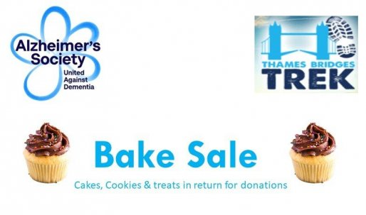 The flyer for the bake sale we held at Crane HQ