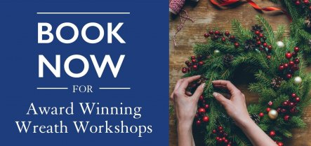 Book now on a Hillier Wreath Workshop