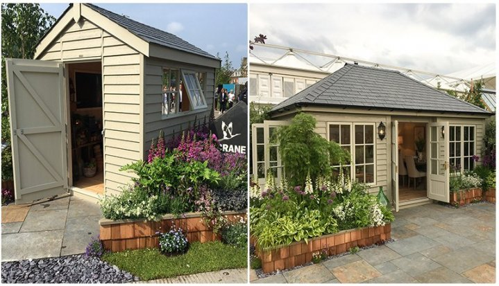 The Superior Shed & the Signature Garden Room at 2019's Chelsea Flower Show
