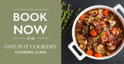 One Pot Cookery Class at Hillier Garden Centre Newbury