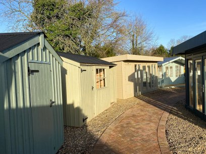 St Albans National Trust Sheds & a Salthouse Studio