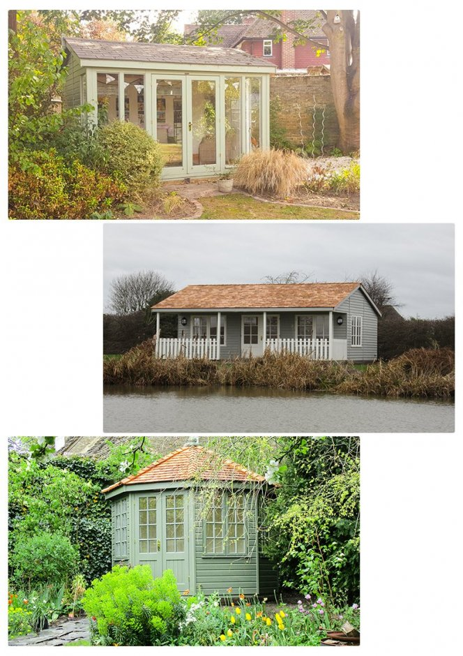 An example of the Studios, Garden rooms and Summerhouses that are also used as a 'She Shed'