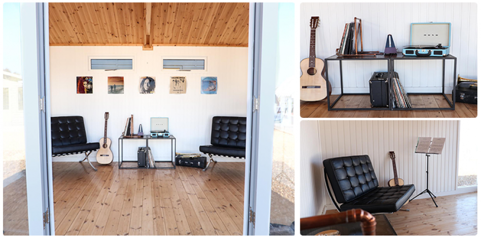 Music Room Inside the Burnham Studio