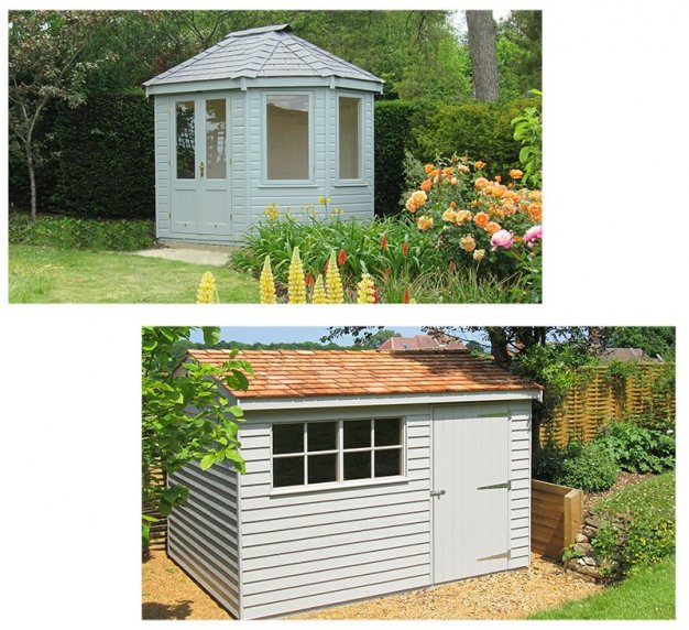 A Wiveton Summerhouse and A Superior Shed
