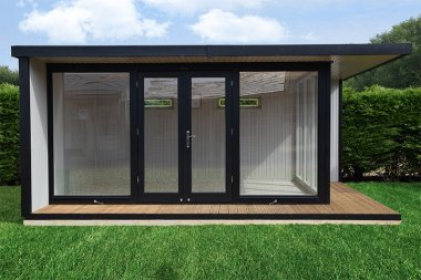 Our Holt Studio can be used for a variety of purposes including a garden office