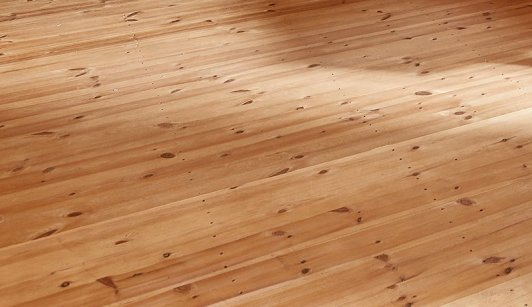 Flooring inside one of our Superior Sheds