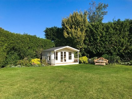 4.2 x 4.8m Morston Summerhouse in Ivory