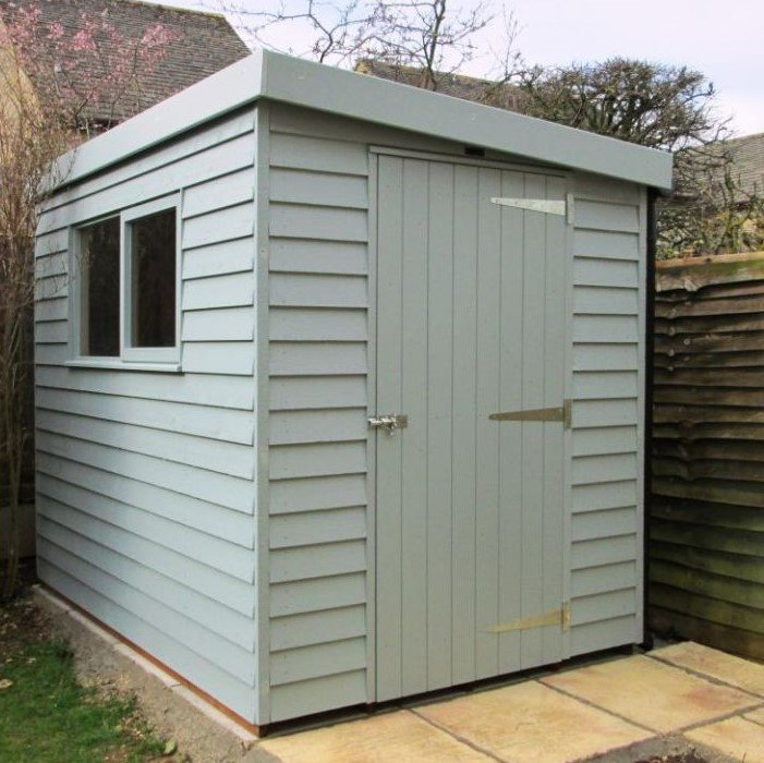 Garden Shed with Weatherboard Cladding