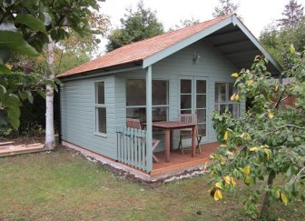 Morston Summerhouse with Furniture on Decking