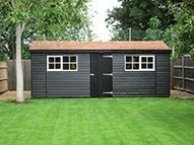 Large Superior Shed in Exterior & Ivory