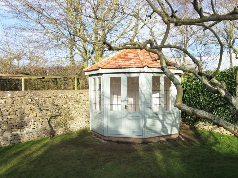 3.0 x 3.0m Wiveton Summerhouse with Leaded Windows