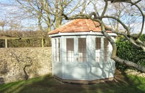 3.0 x 3.0m Wiveton Summerhouse with Leaded Windows