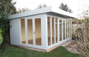 Salthouse Studio with Two Double Door Sets