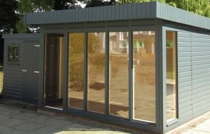 Salthouse Garden Studio with matching Superior Shed