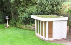 Salthouse Garden Studio with Sedum Roof