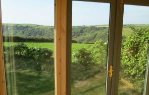 View from inside a Salthouse Studio