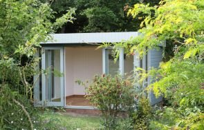 Salthouse Garden Studio with Double Doors