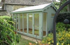 2.4 x 4.2m Burnham Garden Studio