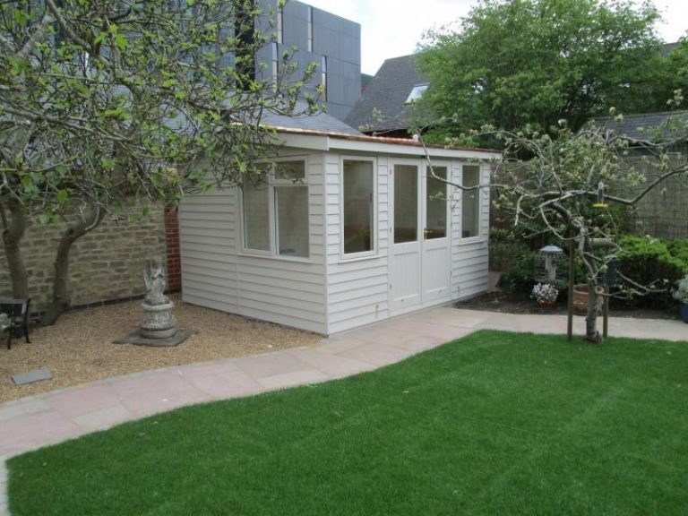 Langham Garden Studio with a Reduced Height Roof